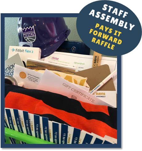 Pay It Forward Raffle Basket