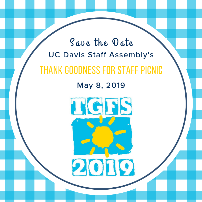Save the Date! Thank Goodness for Staff Picnic May 8, 2019