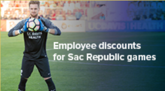 Employee Discounts for Sac Republic Games