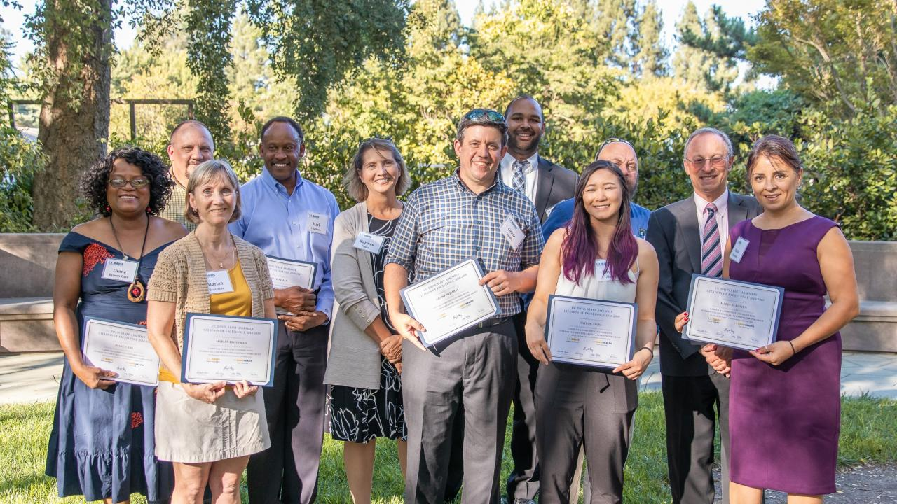 Citations of Excellence Group Award Winners