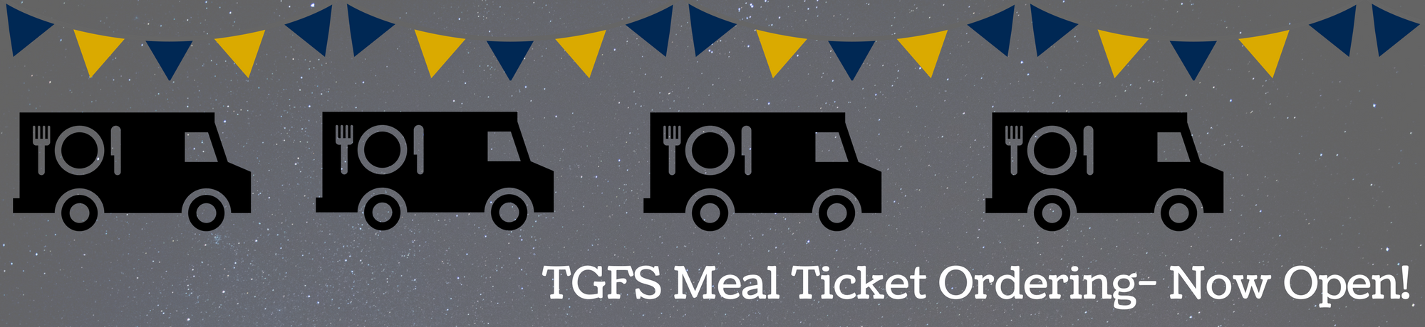 TGFS Meal Ordering is Now Open